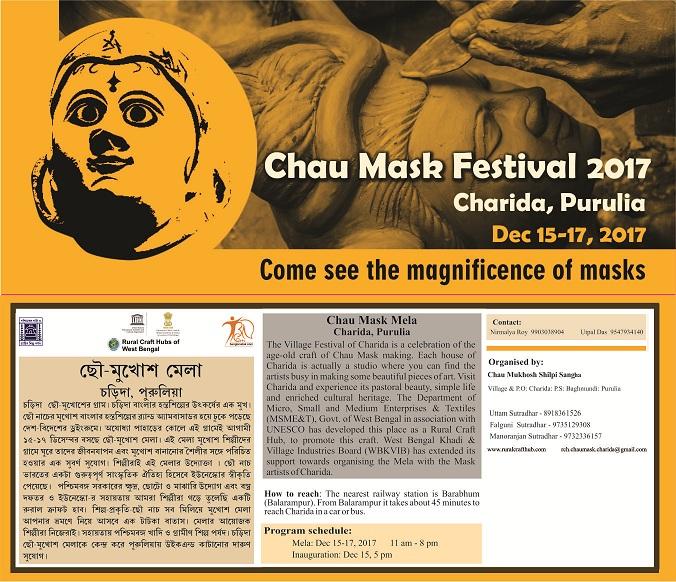 Chau Mask Festival at Charida, Purulia